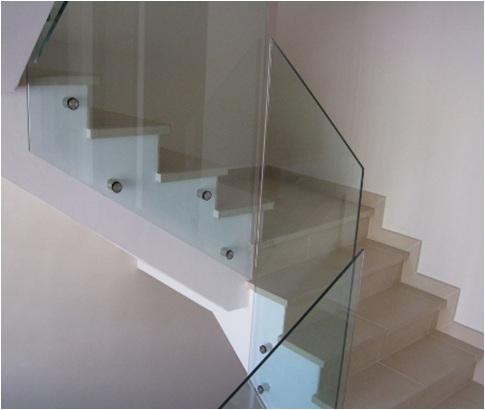 Escaleras y barandillas de vidrio yago cristaler a - Barandillas de escaleras interiores ...