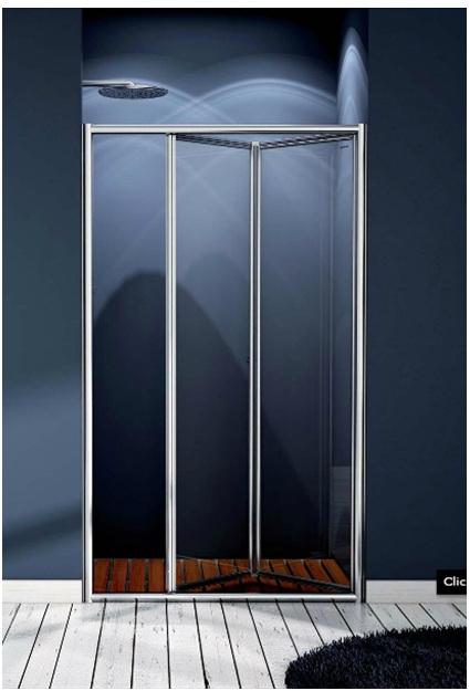 Mamparas de ducha y ba o con puertas plegables yago - Mamparas ducha plegables ...