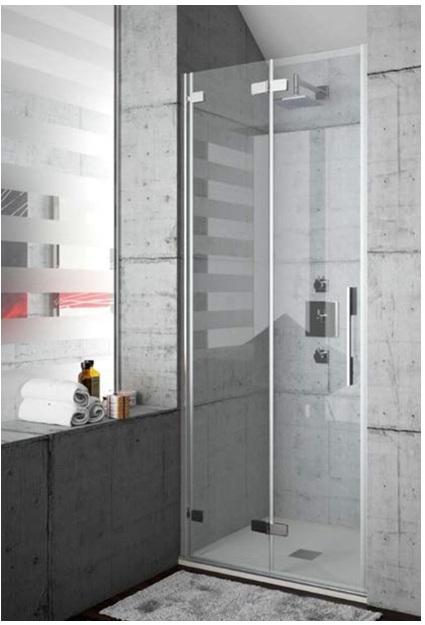 Mamparas de ducha y ba o con puertas plegables yago - Mamparas de ducha plegables ...