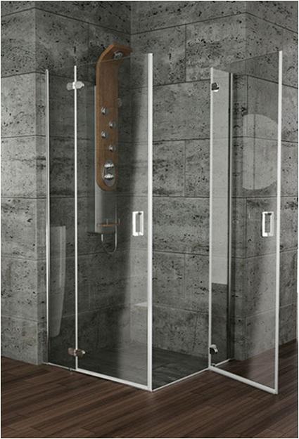 Mamparas de ducha y ba o con puertas abatibles yago - Mamparas de ducha puertas abatibles ...