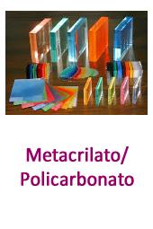 Metacrilato policarbonato en yago cristalería Torrent