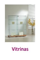 Vitrinas en yago cristalería Torrent