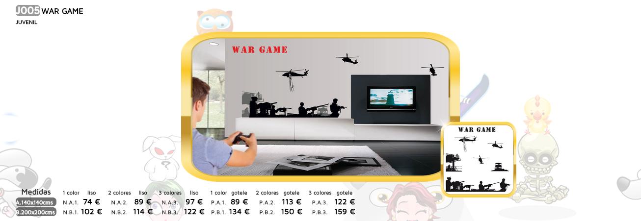 WAR GAME VINILOS